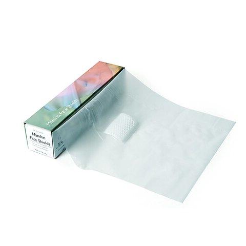 Manikin Face Shields (6 rolls of 36 sheets each)