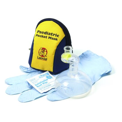 Paediatric Pocket Mask CPR Barrier Device